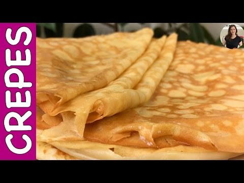How to Make Delicious Crepes  | MY GRANDMOTHER'S RECIPE