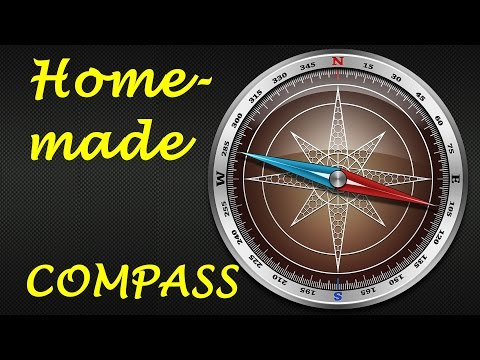 How to Make a Compass (Homemade Compass)