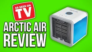 The Arctic Air Evaporative Air Cooler Unboxing and Review!