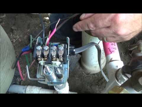 replacing a well pump pressure switch (burnt contact points)