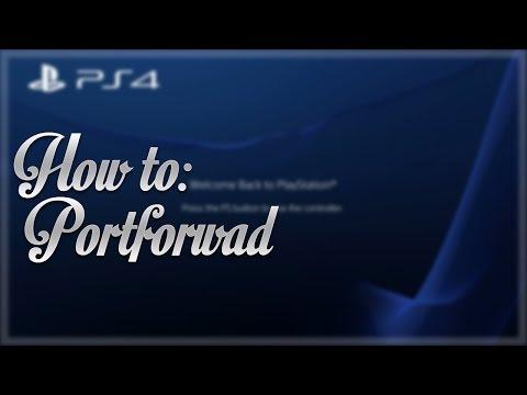Port Foward Ps4 xb1