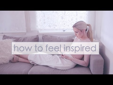 How to Live an Inspired and Creative Life