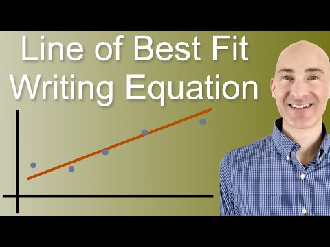 Line of Best Fit Equation
