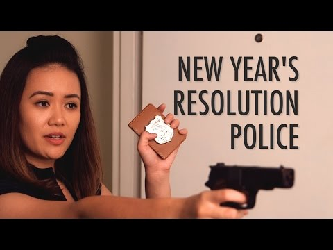 New Year's Resolution Police