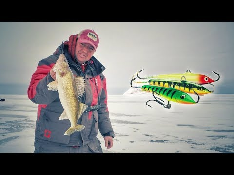 How to Fish Rapala Jigging Raps for Walleye Through the Ice