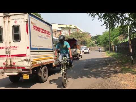 Dart bike stunts
