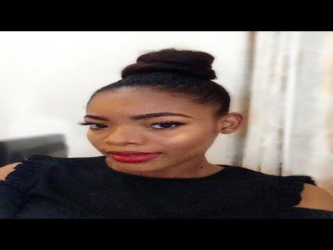 Ninja Bun Hair Tutorial | Beginner friendly | GoldQueen Queency