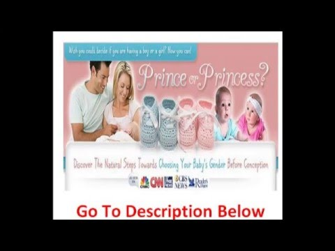 How To Choose Your Baby's Gender Before Conception With Natural Methods