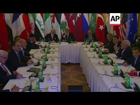 Talks begin on an end to Syrian civil war