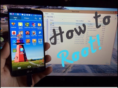 LG G2 - How To Root On Any Carrier Easily! - T-Mobile, AT&T, Verizon, Sprint