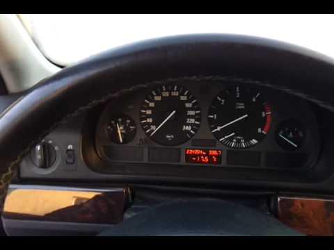 BMW E39 530d - temperatura 17,5'C