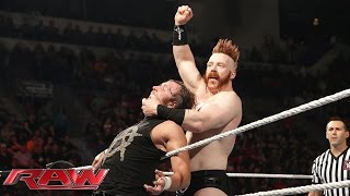 Dean Ambrose vs. Sheamus – King of the Ring First Round Match: Raw, April 27, 2015
