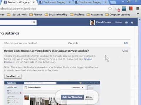 How to Disable Photo Tag on Facebook