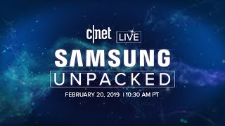 Download Samsung's Galaxy S10 event: Watch CNET's live coverage here Video