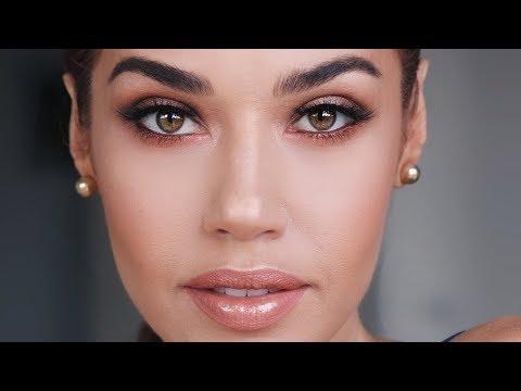 Natural Bronzy Makeup | Eman