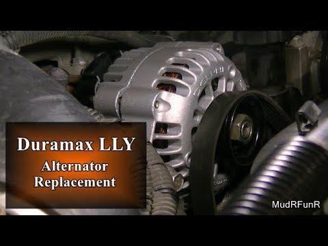 Duramax LLY Alternator Replacement