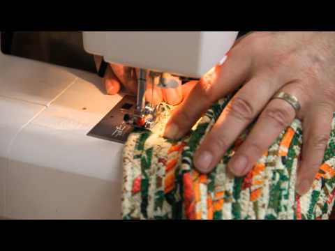 Lincoln Sew and Vac - Fabric Rope Baskets