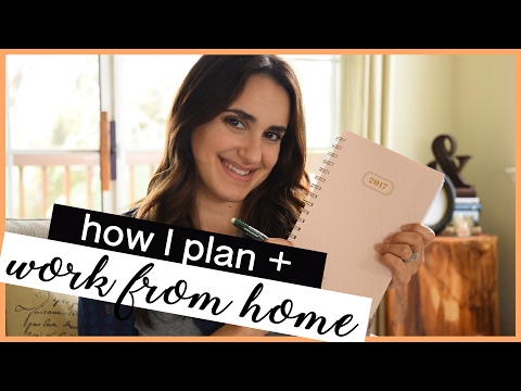 HOW TO PLAN | Stay Organized as a Work From Home Mom!