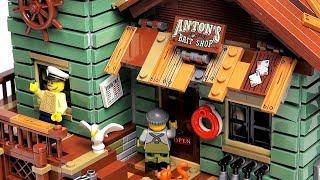 ЛЕГО Обзор LEGO Ideas Старый рыболовный магазин 21310