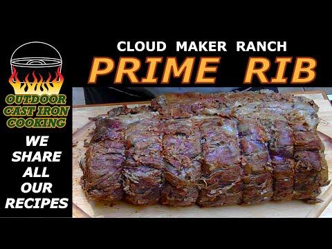 Cloud Maker Ranch Prime Rib