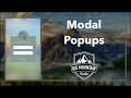 Part 4  - Creating the Modal Popup (iOS, Xcode 8, Swift 3)