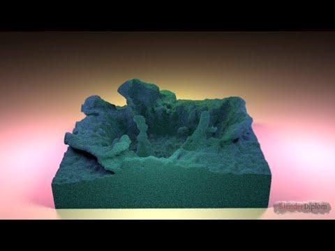 Blender Mantaflow Integration Demo Part 1 I Fluid to Voxels