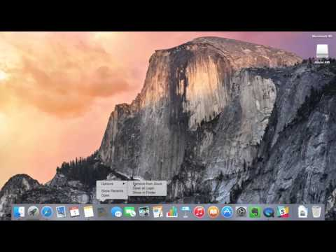 How to customize Dock in Mac OS. Setting up new Macbook