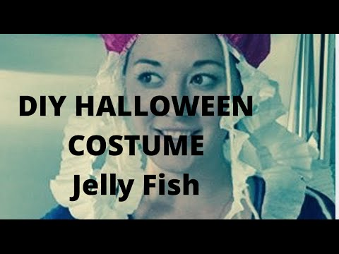Jelly Fish DIY Halloween Costume