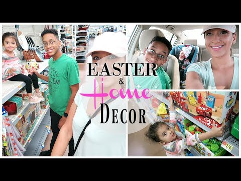 WALMART SHOP WITH ME | EASTER 2018 & HOME DECOR