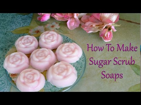 Melt and Pour Soap Craft: How To Make Sugar Scrub Soaps From Melt and Pour Soap