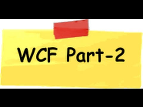 How to consume the service using WCF - Part 2