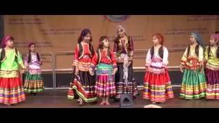 رقص گیلکی گروه کودکان کرشمه در جشن فرهنگهای شهر فرانکفورت آلمان