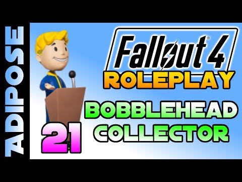 Let's Roleplay Fallout 4 - Bobblehead Collector #21 A touch of class