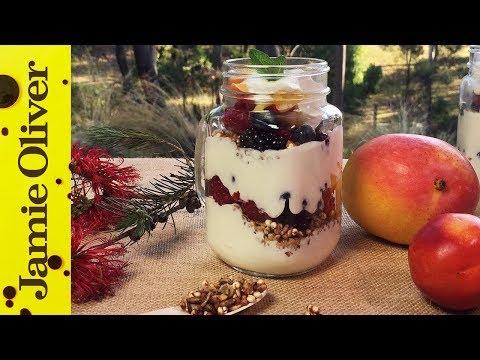 Fruit & Muesli Yogurt Parfait | Dani Stevens