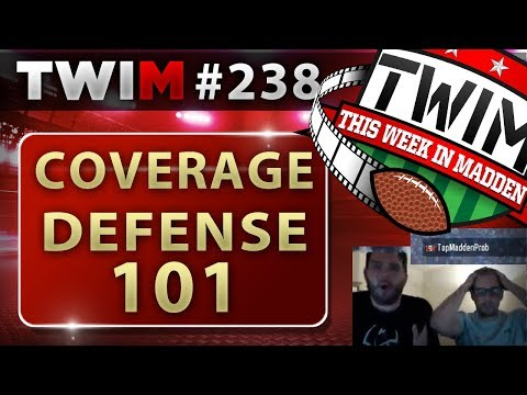 Madden 18 Gameplay | Guide to Coverage Defense 101 | Madden 18 Tips