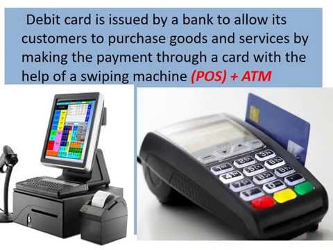 ATM card and Debit card explained  and differences...