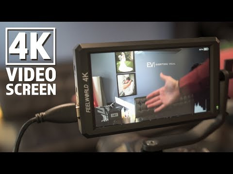 4K On-Camera Video Monitor Review | FeelWorld 4K Screen