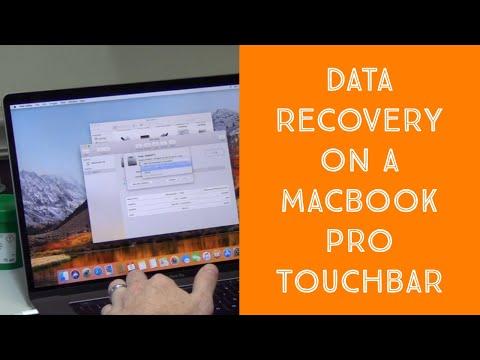 Macbook Pro Data Recovery - Touchbar A1707