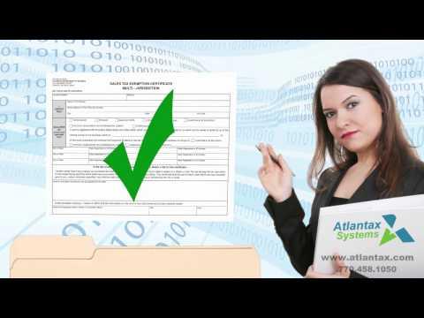 Atlantax Systems - Sales Tax Exemption Certificate Management (ECM) Services