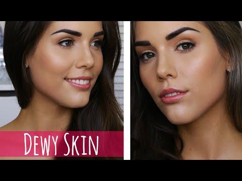 Dewy Glowing Skin   DRUGSTORE Makeup Tutorial
