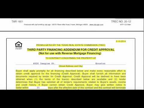 Texas Real Estate Contract Process