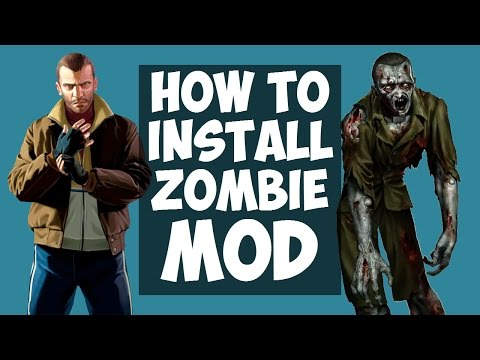 GTA IV: How to install the Zombie MOD? (Left 4 Liberty: Infection v5.1) HD 2017