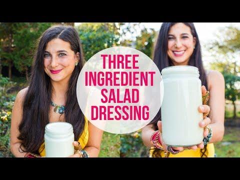 3-Ingredient Dressing for Easy Weekly Meal Prep   FullyRaw Vegan