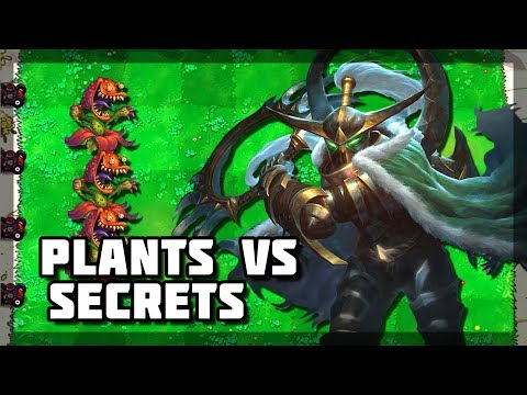 Hearthstone - Plants VS Secret Mages