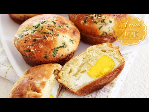 Korean Street  Egg Bread (Gyeran-Bbang)