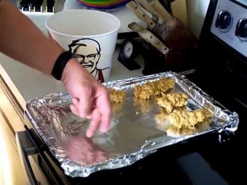 How To Reheat KFC Chicken Tenders - My Way
