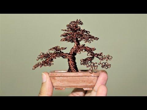 How to make Miniature Wire Tree.