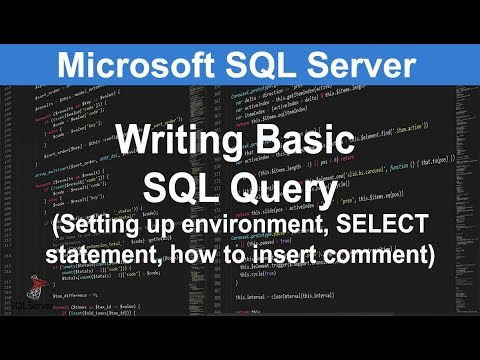 1.3 Writing Basic Query - The SELECT Statement | SQL Server Tutorial