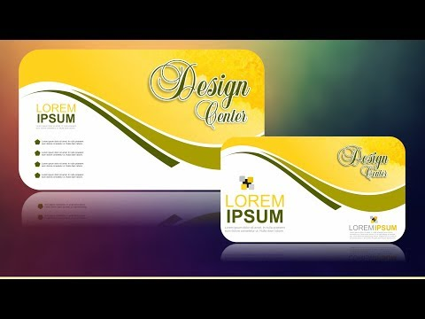 Coreldraw x7 Tutorial Business Card Design #13 with AS Graphics