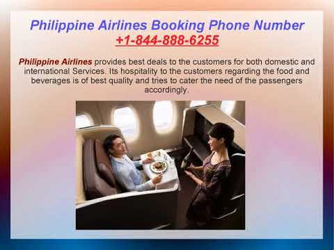 Philippine Airlines Booking Phone Number